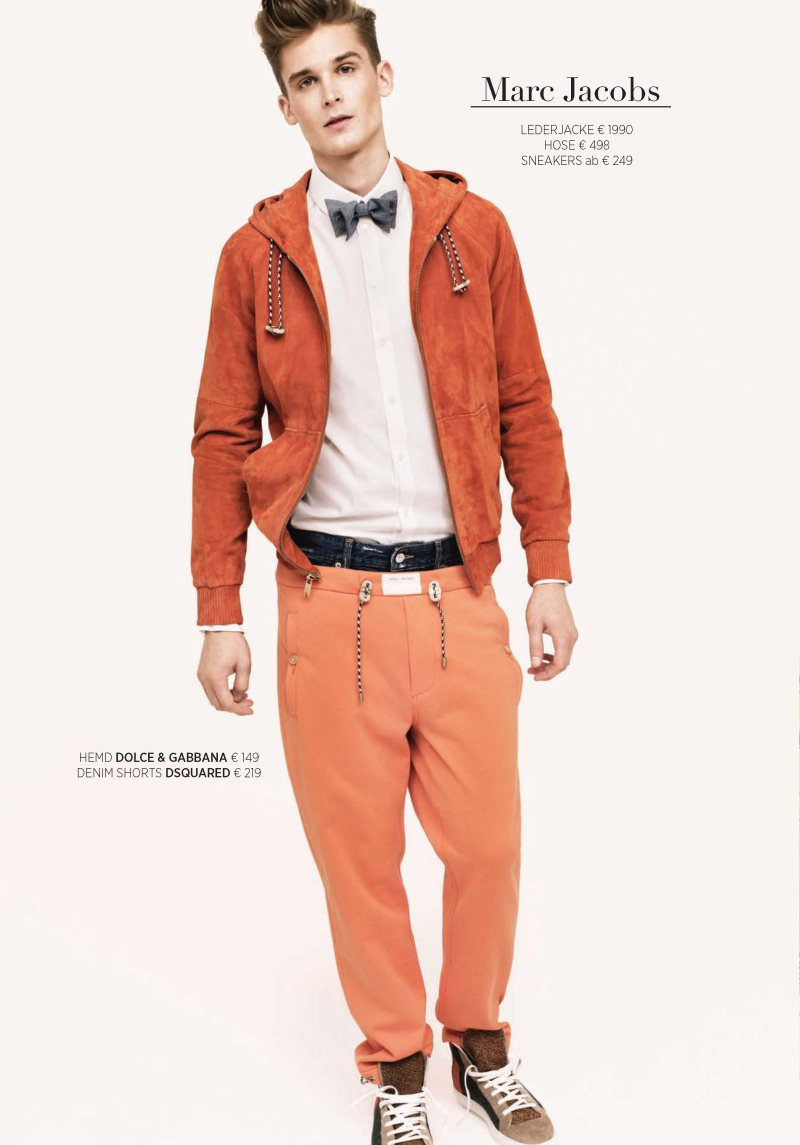Lowell Tautchin by Stefan Heinrichs for APROPOS Spring/Summer 2012