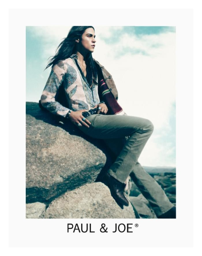 Miles McMillan by Mikael Jansson for Paul & Joe Spring ...