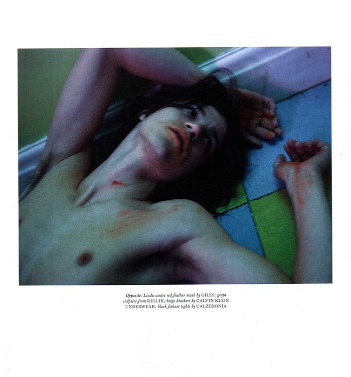 Miles McMillan, Erik Andersson, John Cherkas & Angus Whitehead by Mert & Marcus for Love Magazine