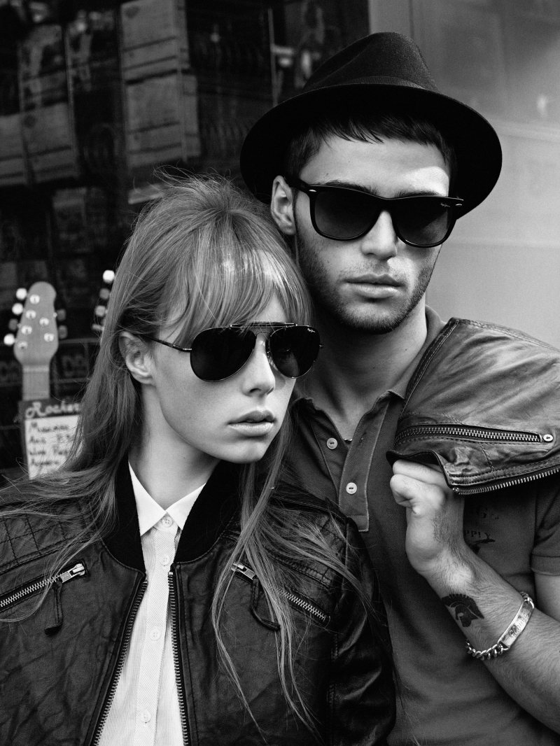 Claude Simonon, Jacob Young & Rob Moore by Alasdair McLellan for Pepe Jeans Spring/Summer 2012 Campaign