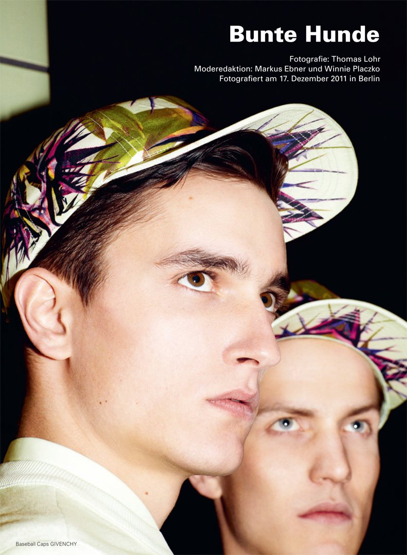 Jakob Wiechmann & Peter Bruder by Thomas Lohr for Achtung Magazine