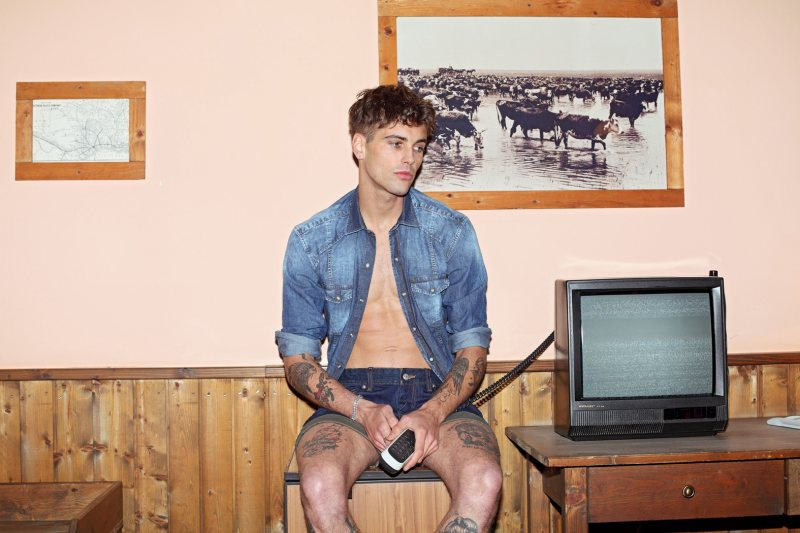 Lewis Grant by Simon for Takeshy Kurosawa Spring/Summer 2012 Campaign