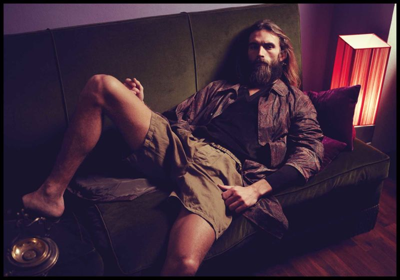 Anders Lindstrom by Adriano Russo for Viktor Magazine