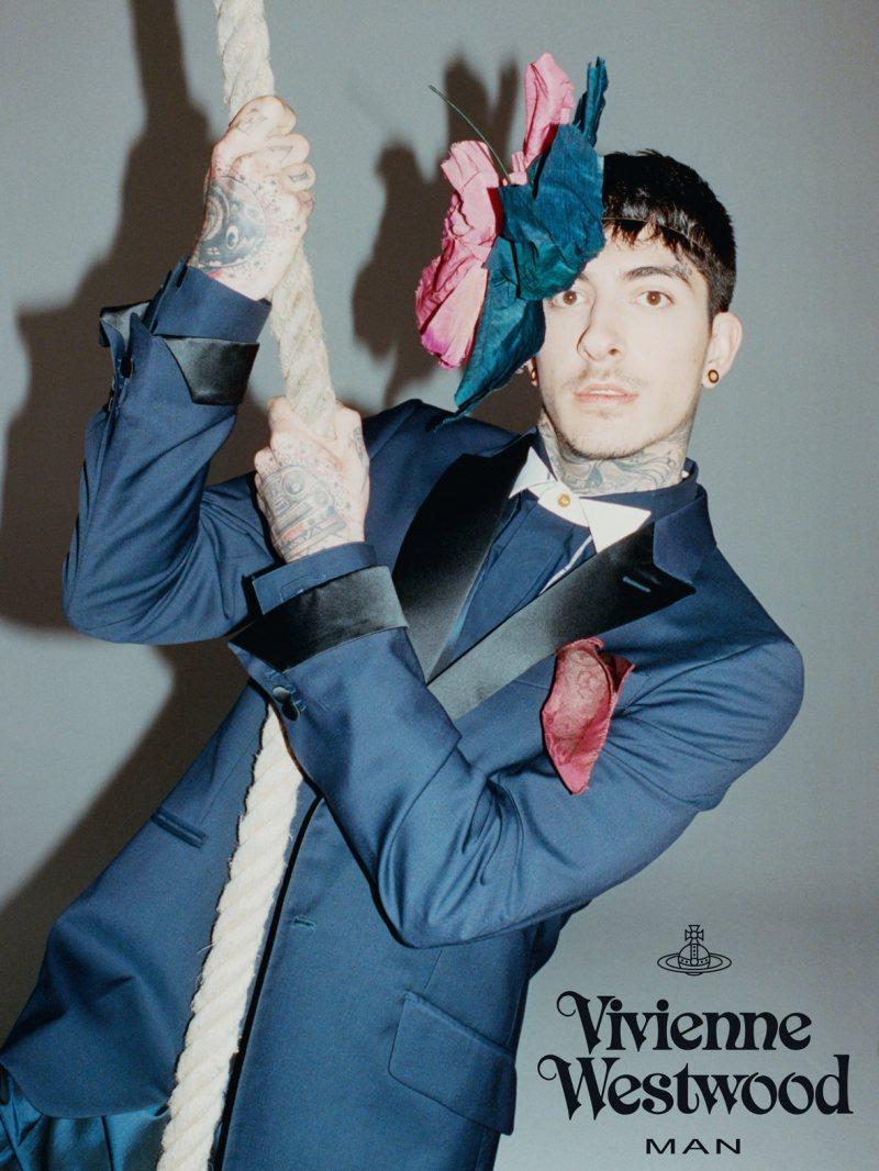 Daniel Bamdad by Juergen Teller for Vivienne Westwood Spring/Summer 2012 Campaign