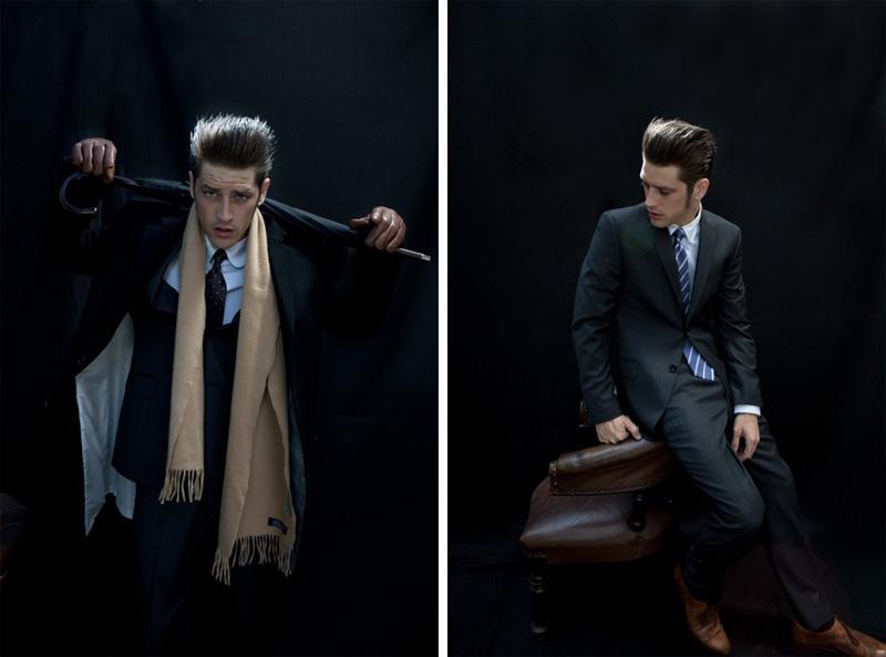 Vinnie Woolston by Karen Inderbitzen-Waller for Crane Brothers Fall/Winter 2012
