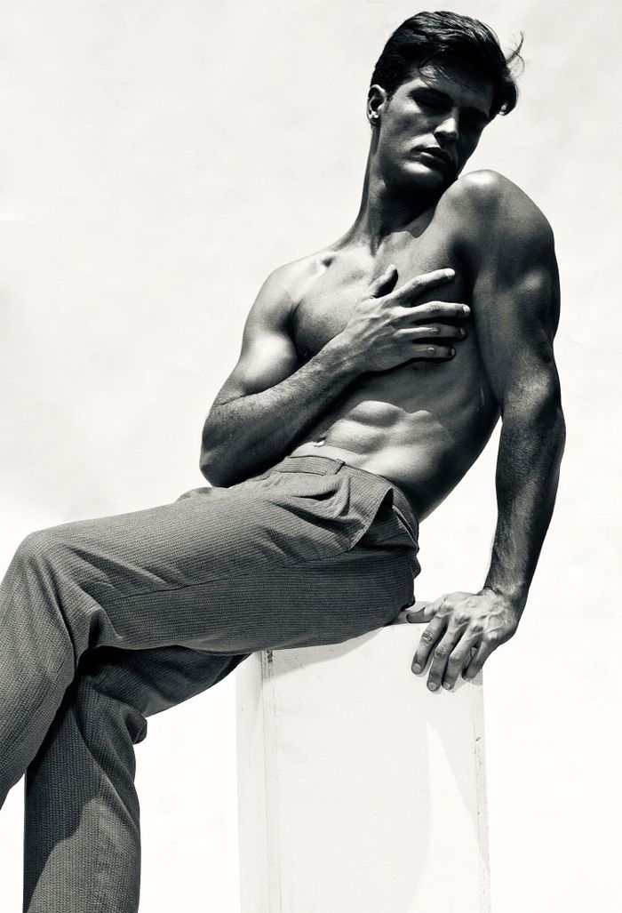 Diego Miguel by Fernando Mazza for Men In Fight Against Breast Cancer 2012 Campaign