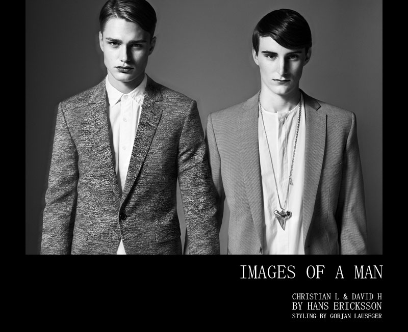 Christian Larsson & David H by Hans Ericksson for Fashionisto Exclusive