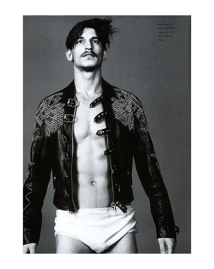 Jarrod Scott by David Sims for Vogue Hommes International
