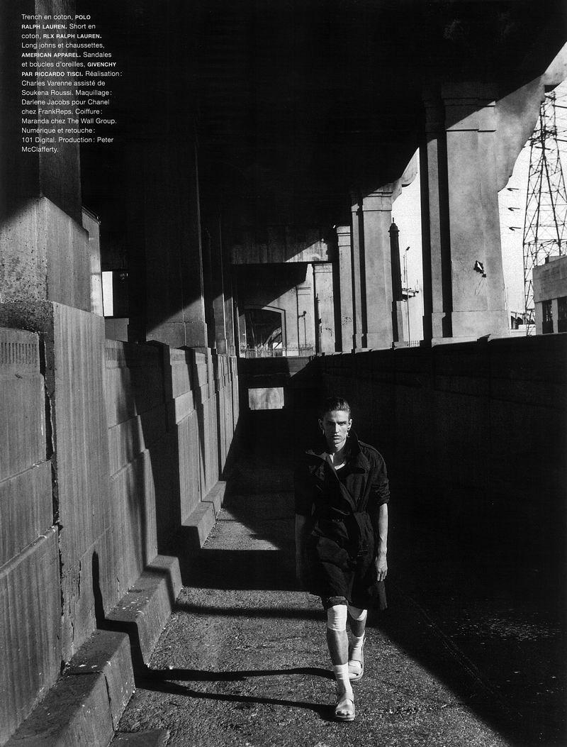 Jules Hamilton by Sebastian Kim for Numéro Homme