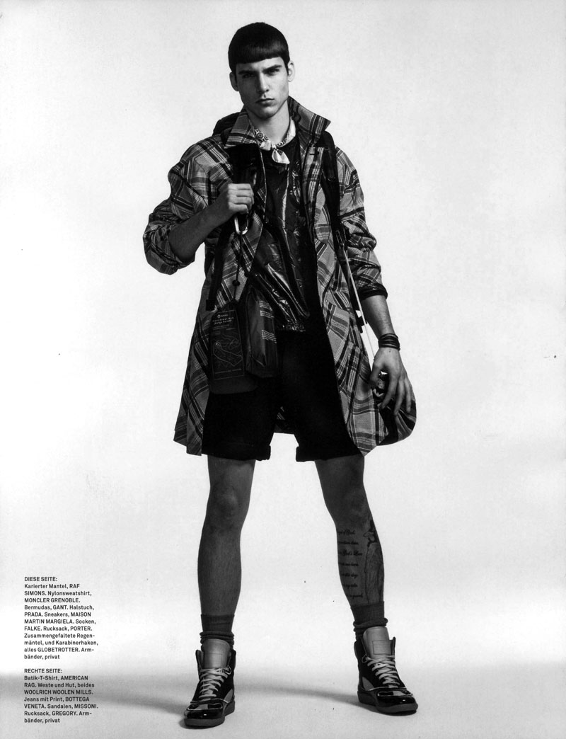 Chris Petersen by Matthias Vriens-McGrath for GQ Style Germany