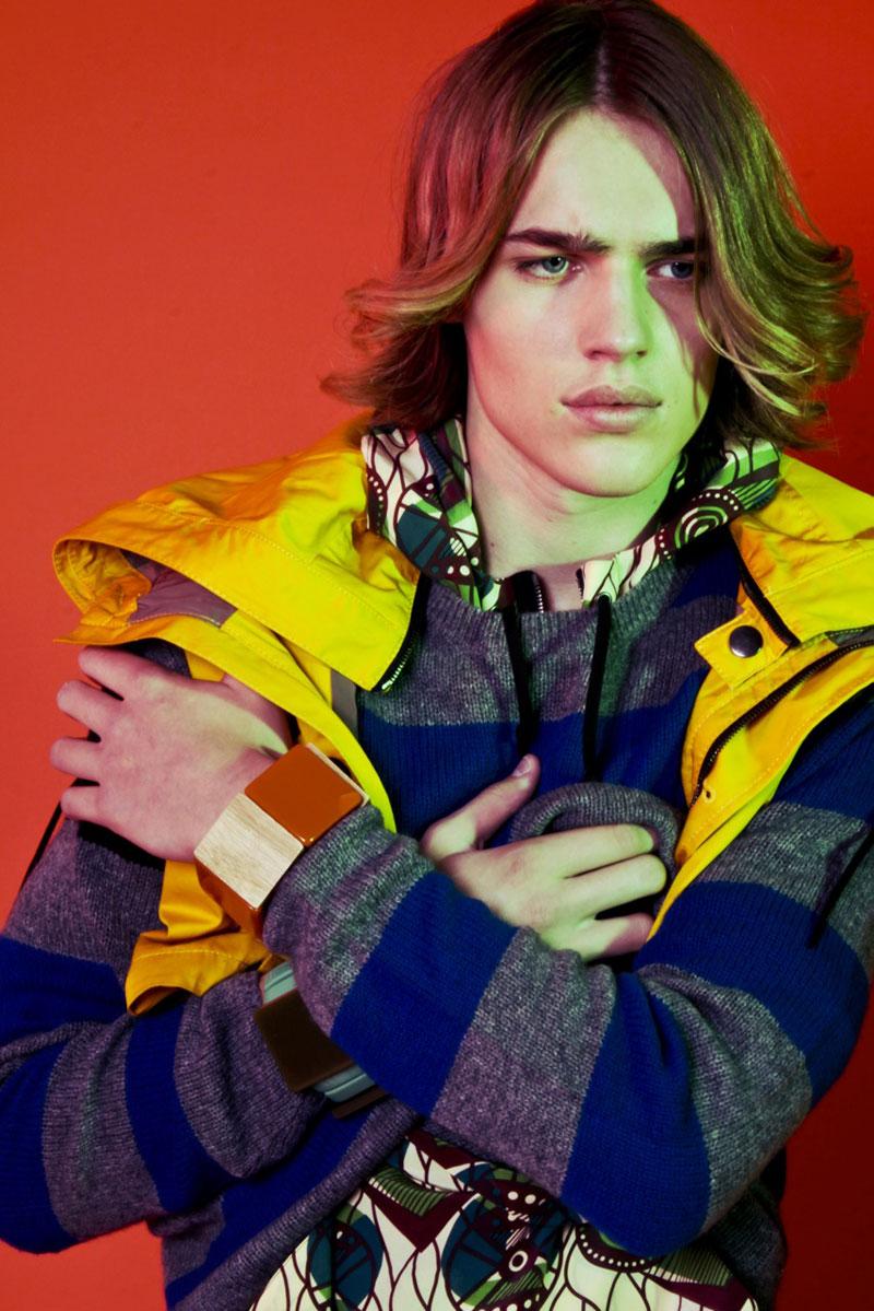 Ton Heukels by Lorenzo Marcucci in H&M x Marni