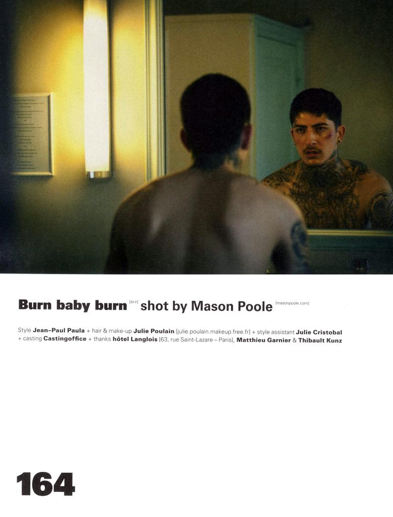 Daniel Bamdad, Robert Laby & Djavan Mandoula by Mason Poole for WAD Magazine