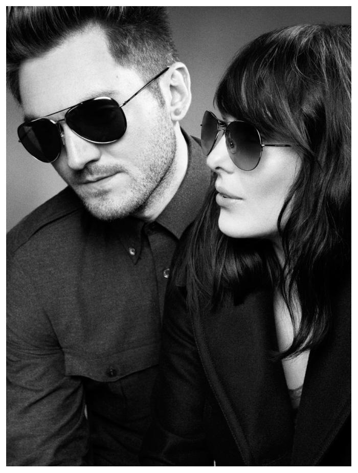 George Craig, Sam Fry & The Daydream Club by Mario Testino for Burberry Summer 2012 Eyewear Campaign