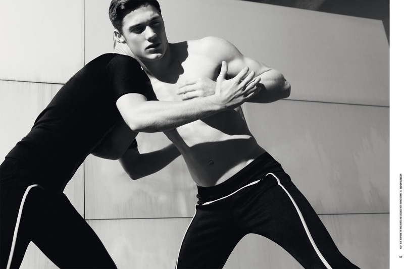Steven Chevrin & Hadrien Mazelier by Nicolas Valois for DSection