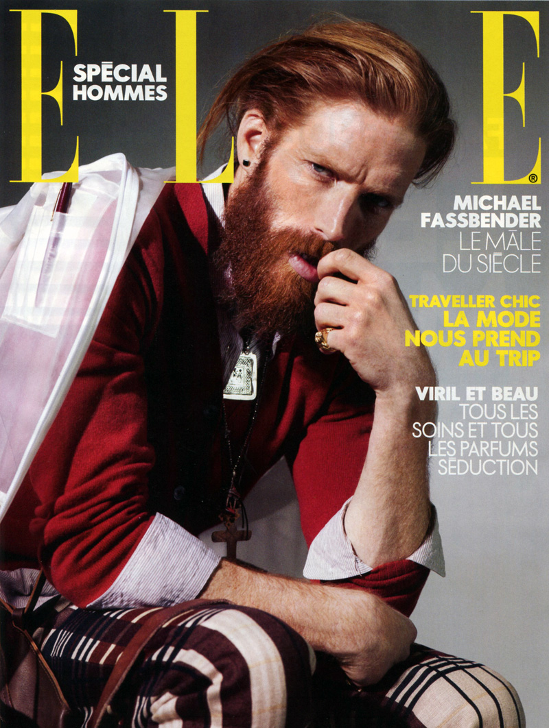 Johnny Harrington by Nicolas Valois for Elle France