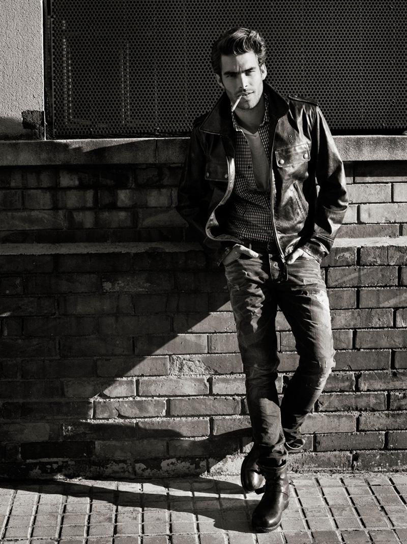 Jon Kortajarena by Sergi Pons for GQ France   The Fashionisto