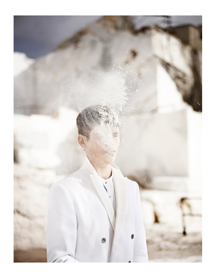 Julius Pfister by Magda Wunsche & Samsel for L'Officiel Hommes Germany