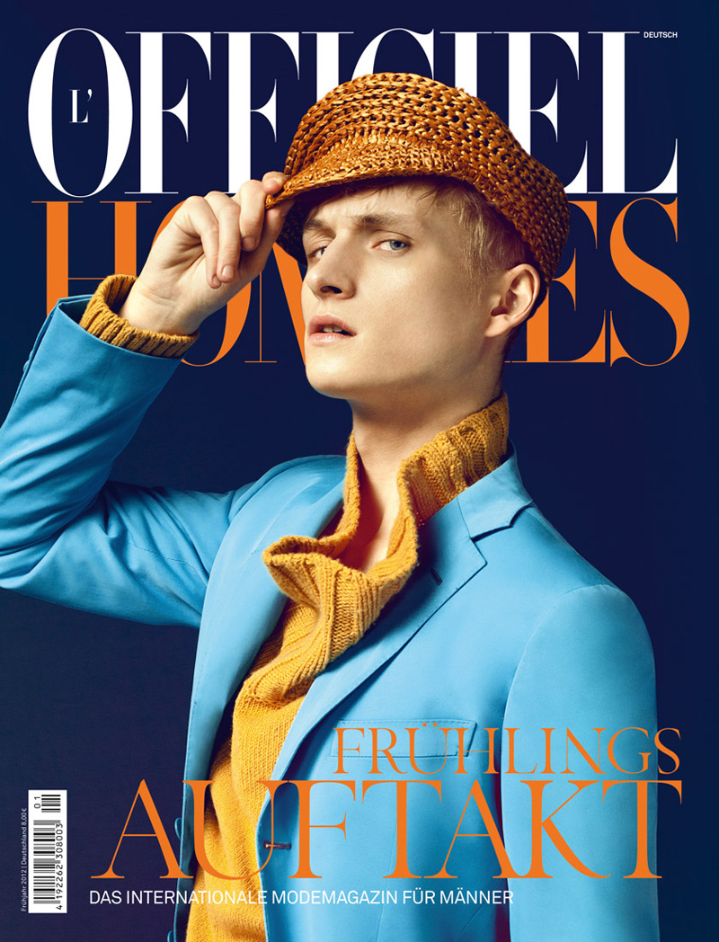 Alexander Laible by Errikos Andreou for L'Officiel Hommes Germany