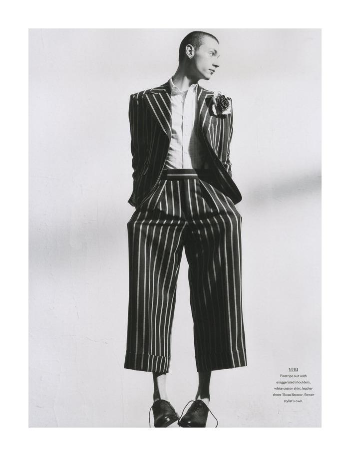 Yuri Pleskun by Hasse Nielsen for Bon Magazine