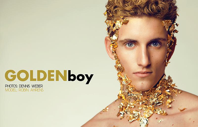 Robin Ahrens is the Golden Boy by Dennis Weber