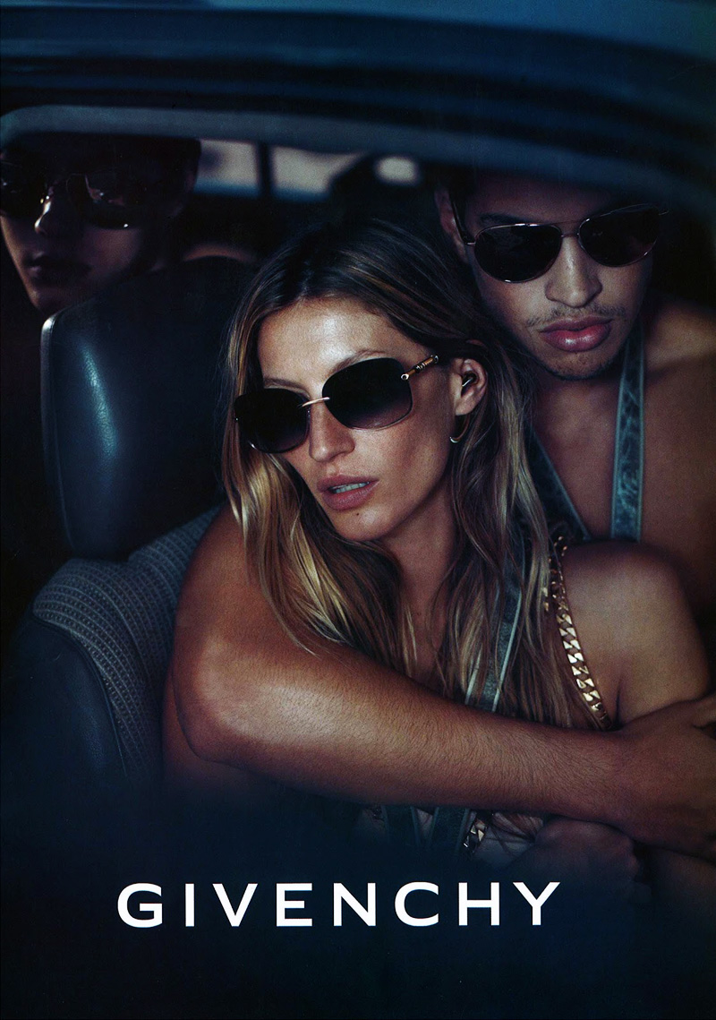 Chris Moore & Simone Nobili by Mert & Marcus for Givenchy Spring/Summer 2012 Eyewear Campaign