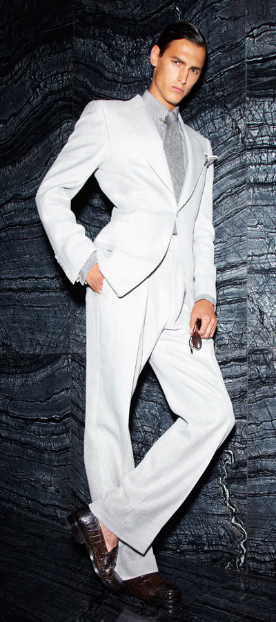 Mathias Bergh for Tom Ford Spring/Summer 2012
