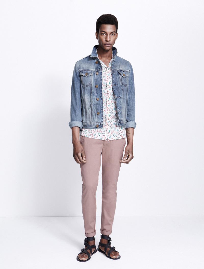 Ty Ogunkoya for AllSaints Spring/Summer 2012 image