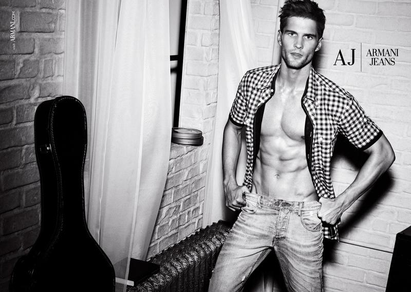 Armani-Jeans-Spring-Summer-2012-Campaign