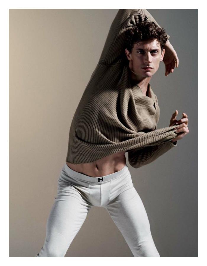 Benjamin Warbis, Cameron McMillan & Thom Morell are Dancers for Attitude