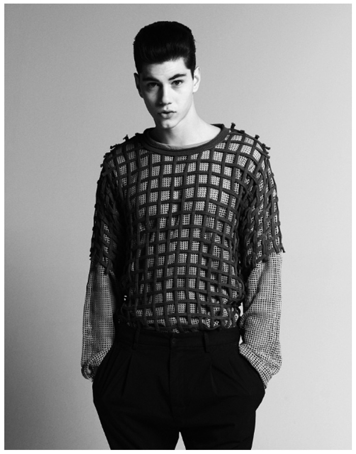Simone Nobili Takes Center Stage for The Greatest by Giuseppe Gasparin