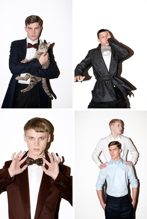Abiah Hostvedt, Collin Tennant,  Paolo Anchisi & Anthony Murrell by Marcelo Krasilcic for 10 Men