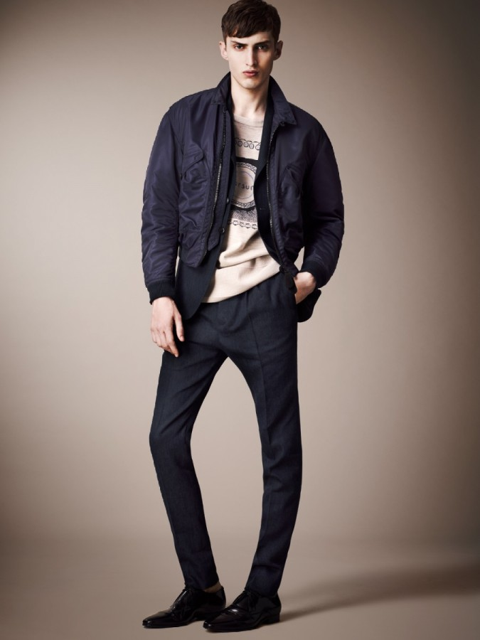 0413bed5ede5 Charlie France Models Burberry Prorsum s Pre-Spring 2013 Collection   The  Fashionisto