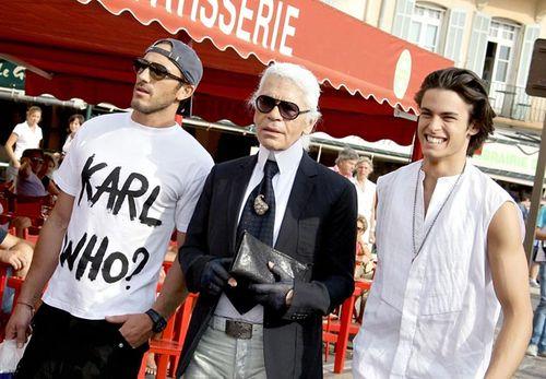 Photo of the Day - Karl & His Entourage