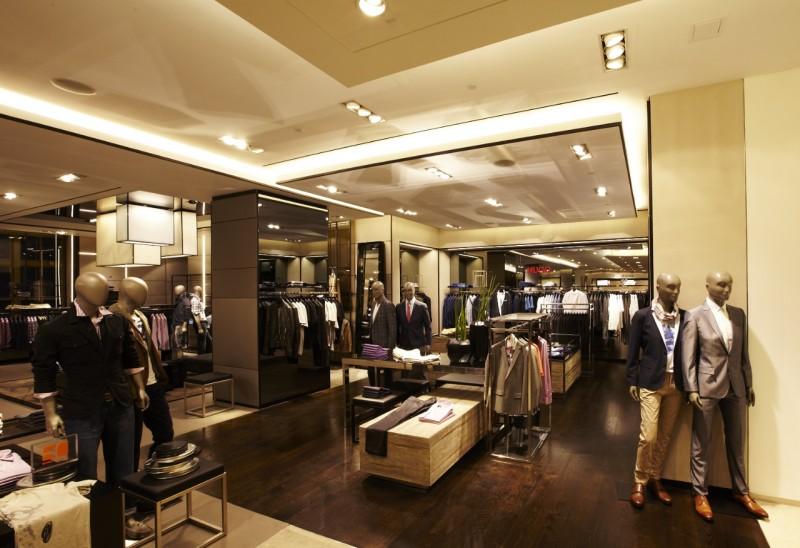 Hugo Boss Opens Shop at Saks Fifth Avenue New York