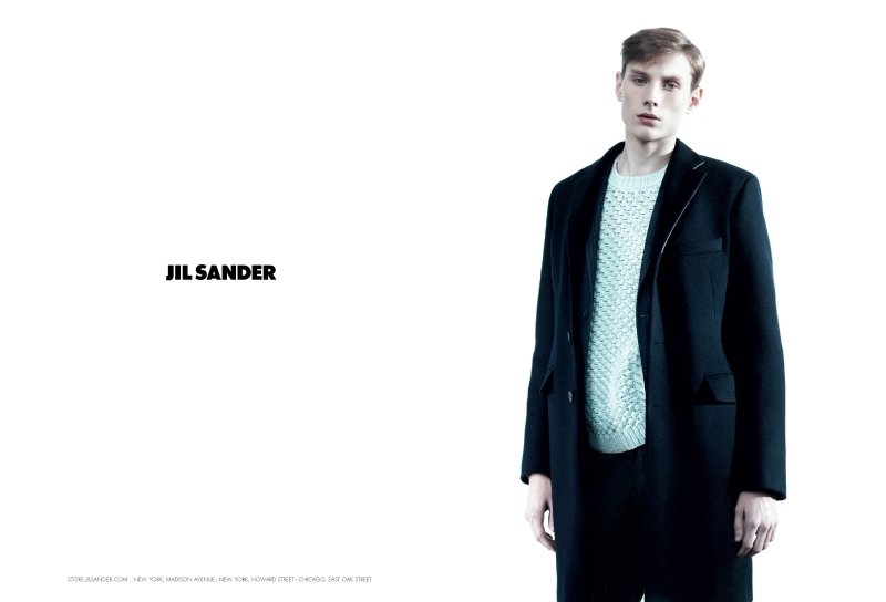 Jil Sander Fall 2010 Campaign   Aiden Andrews by Willy Vanderperre