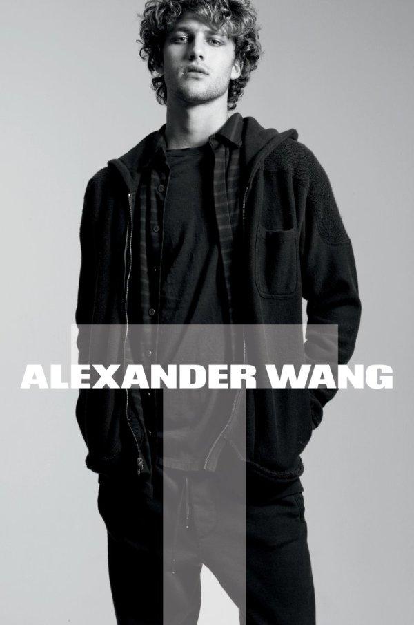 T by Alexander Wang Fall 2010 Campaign | Max Motta & Zoe Kravitz by Daniel Jackson