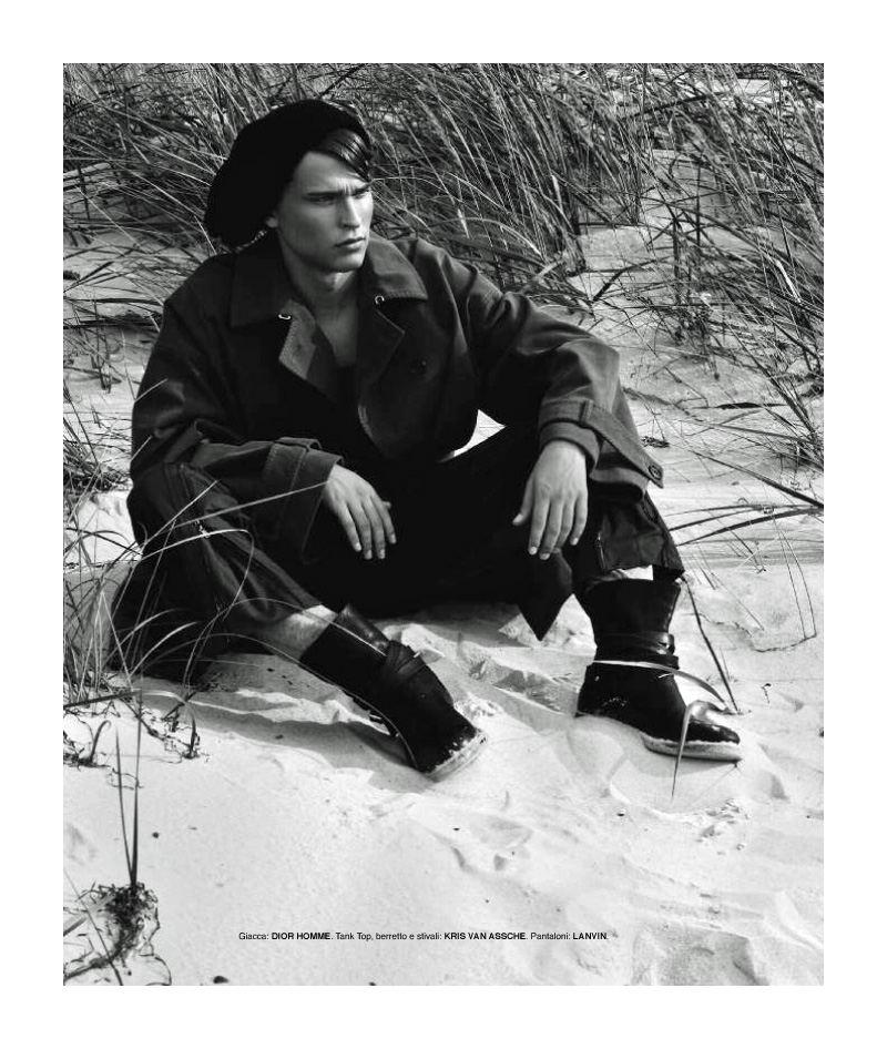 Michel Stachowicsz by Arcin Sagdic for POSH Magazine