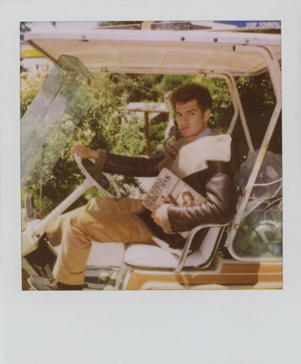 Andrew Garfield for Band of Outsiders Fall 2010