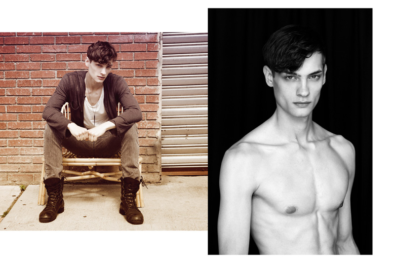 Branko Maselj Shows Off His New 'Do' in a Photo Session with Idris + Tony