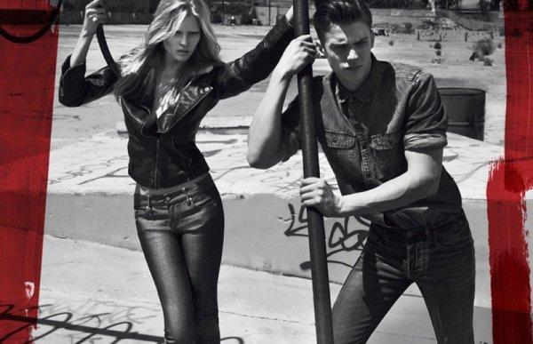 Calvin Klein Jeans Fall 2010 Campaign | Sid Ellisdon & AJ Abualrub by Mert & Marcus