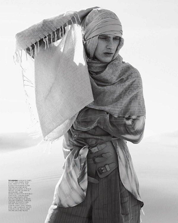 The Chic of Araby | Gerhard Friedl & Thomas Hoefnagels by David Slijper