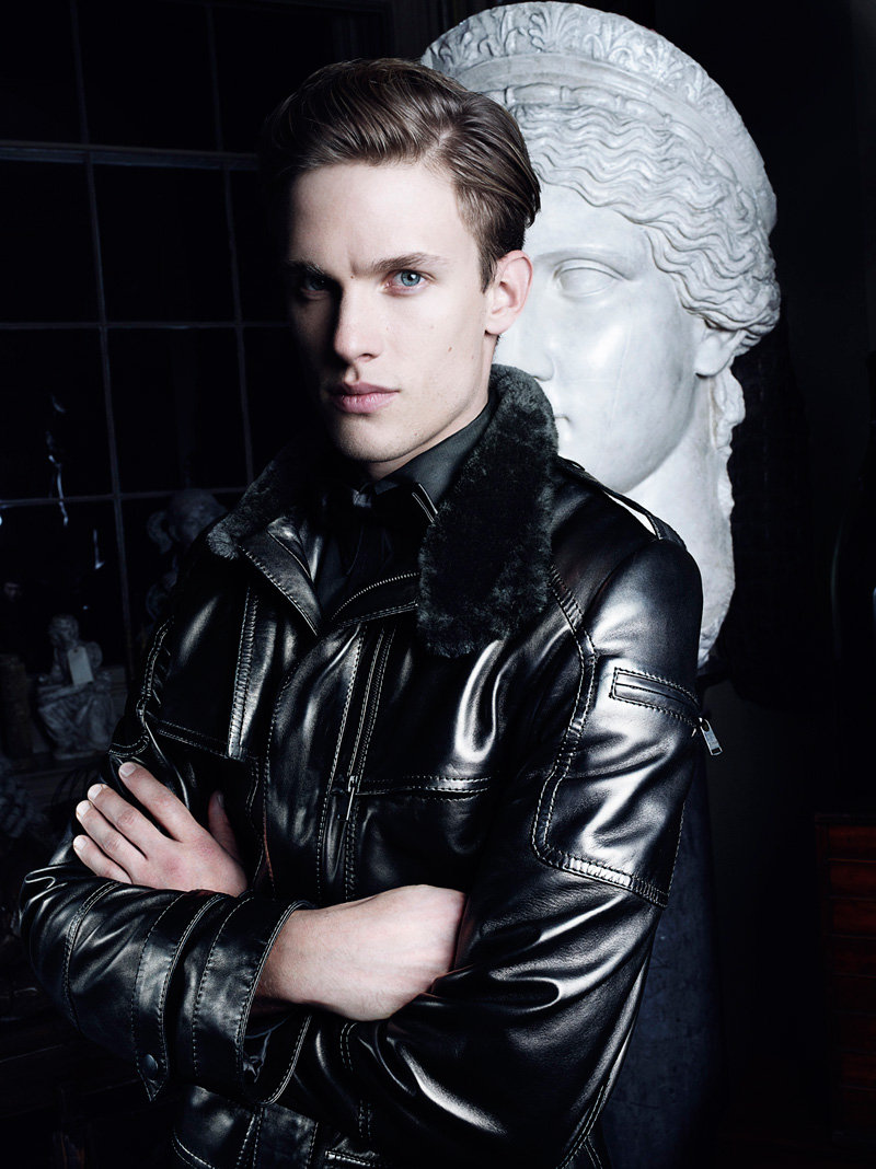 Chris Doe Clad in Leather for Jitrois' Fall/Winter 2012 Campaign