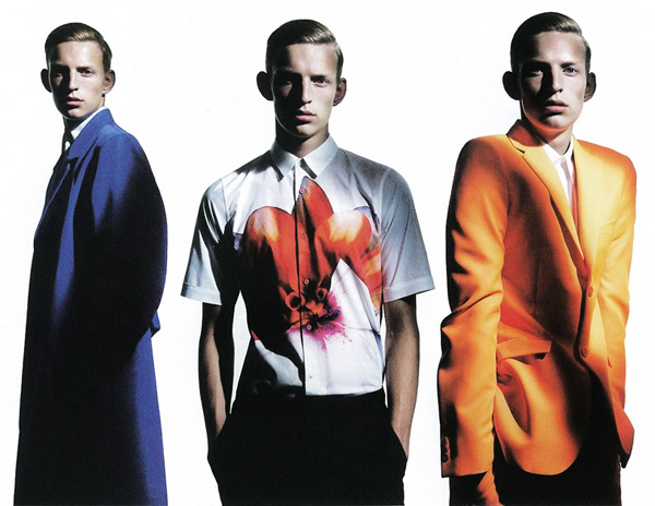 Christian Ochsenfahrt by Willy Vanderperre in Raf Simons for Man About Town
