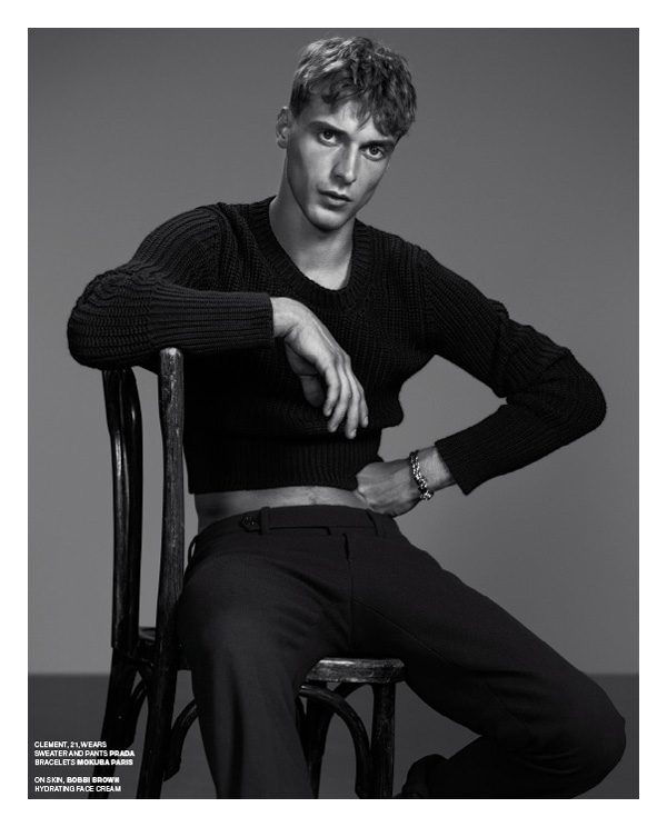Clément Chabernaud & Kelly Rippy by Willy Vanderperre in Boys to Men