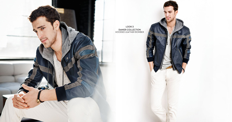 Clint Mauro Demonstrates an Accessible Luxury for Danier Spring/Summer 2012