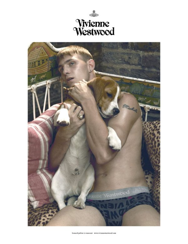 Clinton Weber by Sean & Seng for Vivienne Westwood Underwear & Accessories Fall 2010 Campaign