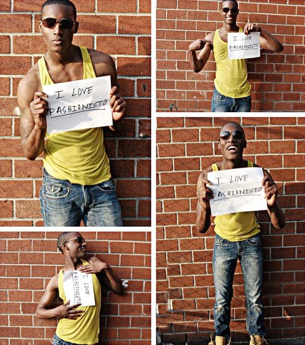 Model to Watch   Corey Baptiste Exclusive