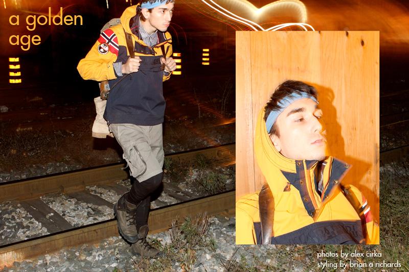 Damien Kim in 'A Golden Age' by Alex Cirka for Fashionisto Exclusive