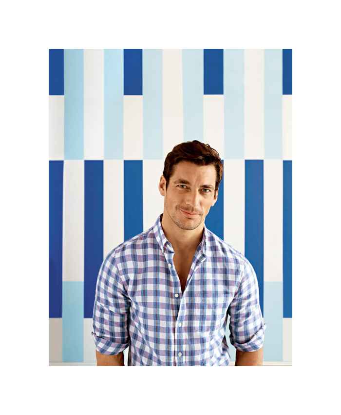 David Gandy Celebrates Classic Style for Banana Republic Summer 2012 Campaign by Carter Smith