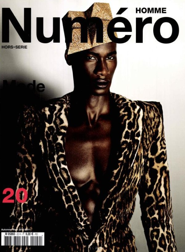David Agbodji by Matthias Vriens-McGrath for Numéro Homme